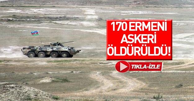 170 Ermeni askeri öldürüldü