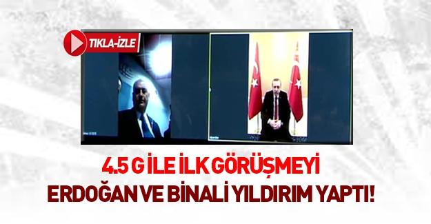 4,5 ile ilk görüşme Erdoğan ile Binali Yıldırım arasında