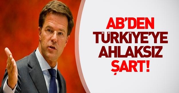 AB Dönem Başkanı'ndan Türkiye'ye 'ahlaksız' şart!