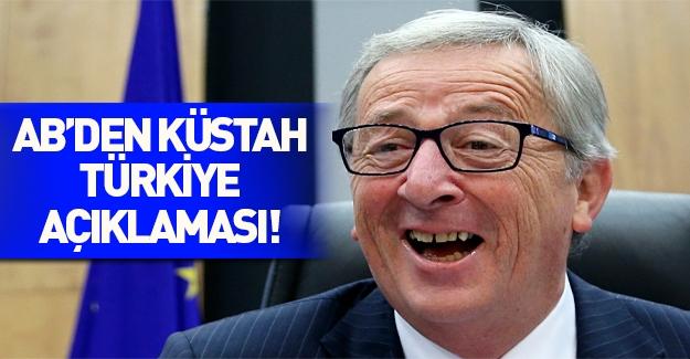AB komisyonu başkanından skandal Türkiye açıklaması!