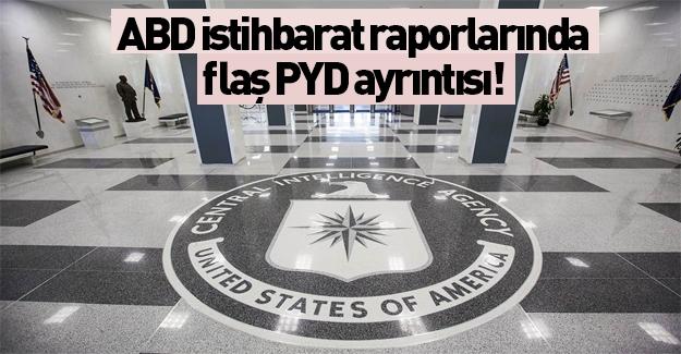 ABD istihbarat raporlarında PYD'yle ilgili ilginç ayrıntı!