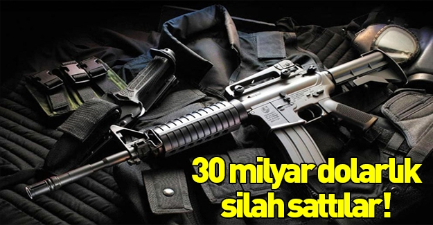 ABD, Ortadoğu ülkelerine 30 milyar dolarlık silah sattı