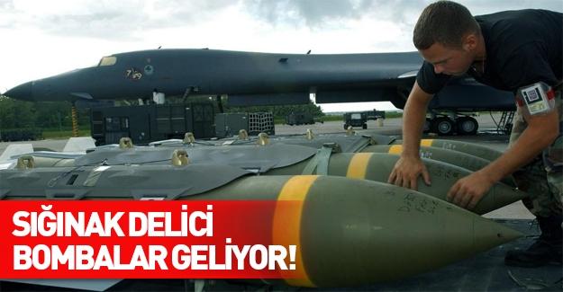 ABD'den Türkiye'ye 'sığınak delici' bomba