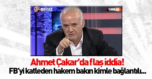 Ahmet Çakar'dan olay hakem iddiası!