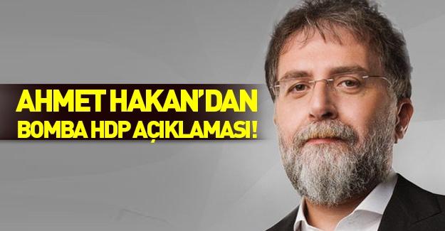 Ahmet Hakan'dan bomba HDP yazısı
