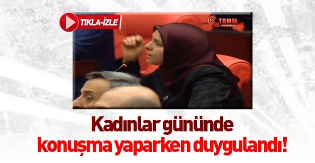 AK Partili kadın vekilden duygu yüklü 8 Mart mesajı İZLE