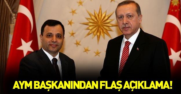 Anayasa Mahkemesi Başkanı Arslan'dan flaş açıklamalar