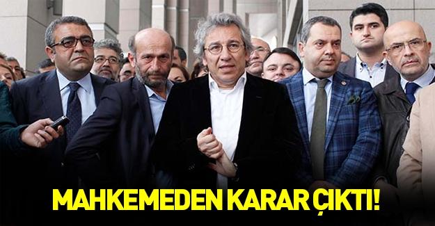 Anayasa Mahkemesi'nden Can Dündar ve Erdem Gül kararı