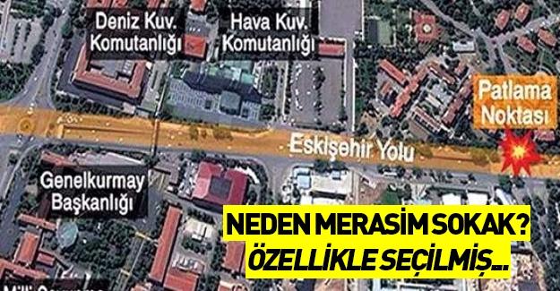 Ankara'daki saldırıda neden Merasim Sokak seçildi?