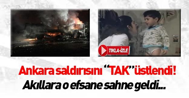 Ankara'daki terör saldırısını 'O' örgüt üstlendi