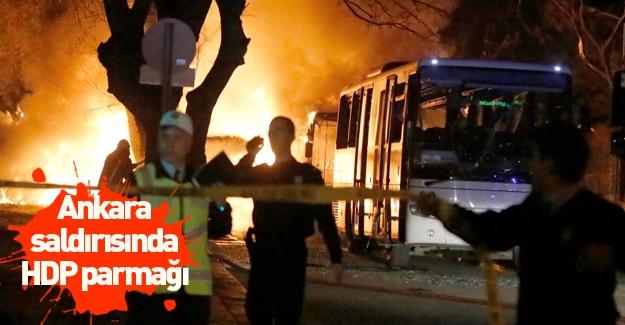 Ankara patlamasında HDP parmağı