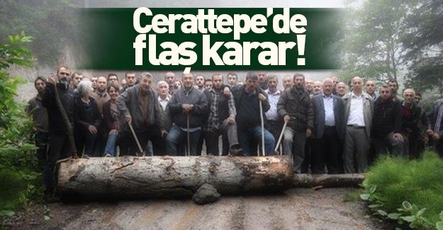 Artvin Cerattepe'deki maden çalışmaları durduruldu