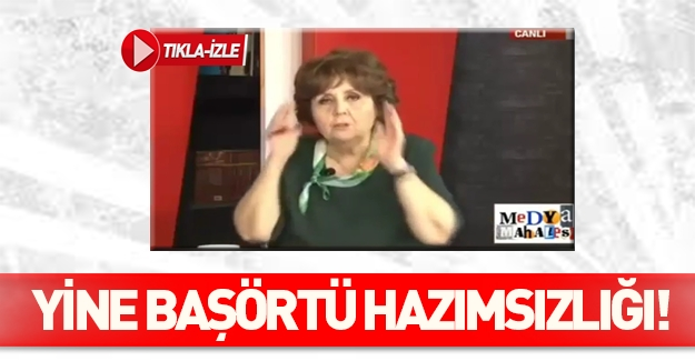 Ayşenur Arslan başörtülü kızlardan rahatsız oldu - İZLE