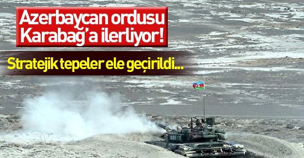 Azerbaycan: Ermeni işgalindeki bazı bölgeler geri alındı