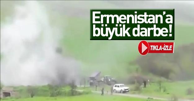 Azerbaycan Ermeni karargahını böyle imha etti
