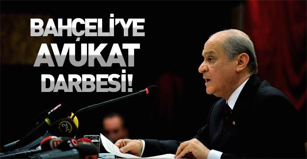 Bahçeli'nin avukatı kurultay davasından çekildi