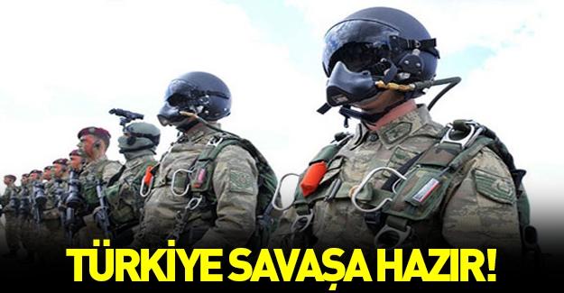 Bakan açıkladı: TSK savaşa hazır