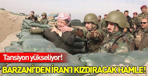 Barzani'den İran'ı çıldırtacak hamle...