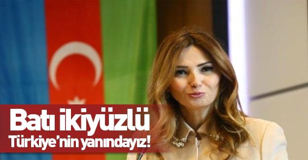 """""""Batı ikiyüzlü Türkiye'nin yanındayız"""""""