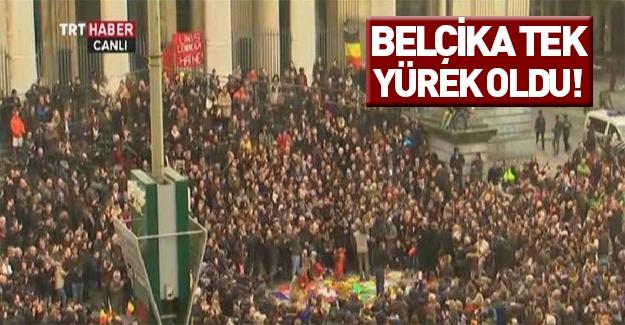 Belçika'daki saldırıda ölenler anıldı