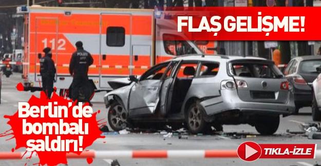 Berlin'de bombalı araç patladı