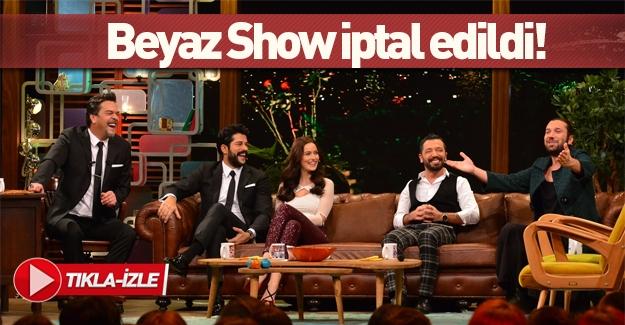 Beyaz Show Kanal D'nin bugünkü yayın akışından kaldırıldı