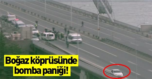 Boğaziçi Köprüsü'nde şüpheli araç paniği
