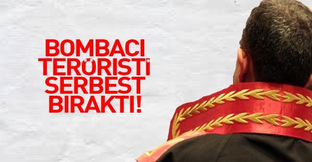 Bombacı terörist hakimin kanaatiyle serbest kaldı