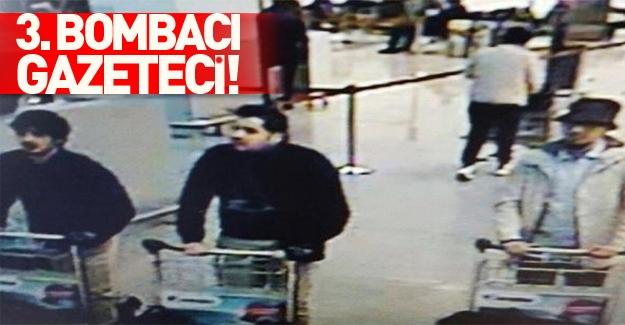 Brüksel saldırısındaki 3. kişi gazeteci çıktı