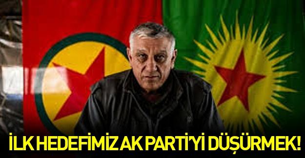 Cemil Bayık: İlk hedef AK Parti iktidarını düşürmek!