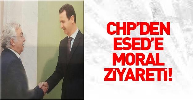 CHP'den Esed'e moral ziyareti
