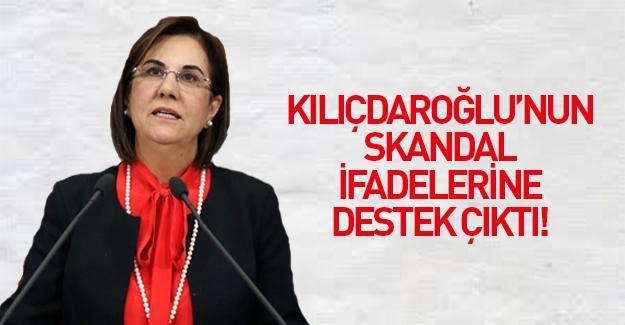 CHP'li Gaye Usluer Kılıçdaroğlu'nu savundu!