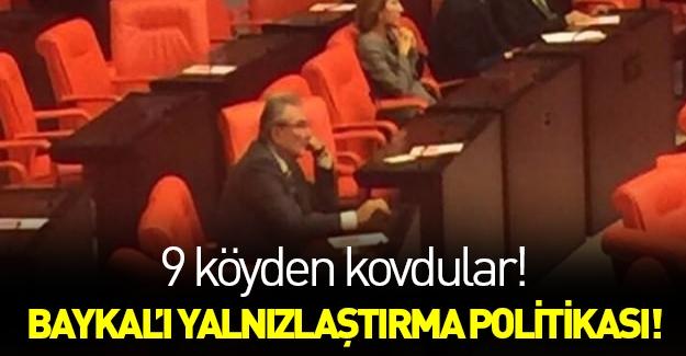 CHP'yi eleştiren Deniz Baykal yalnız kaldı!
