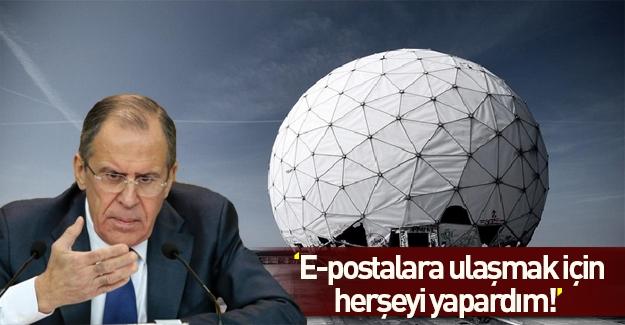 CIA eski başkanı: Lavrov'un hesabına ulaşmak için her şeyi yapardım