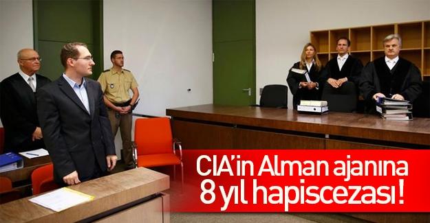 CIA'in Alman ajanına 8 yıl hapis