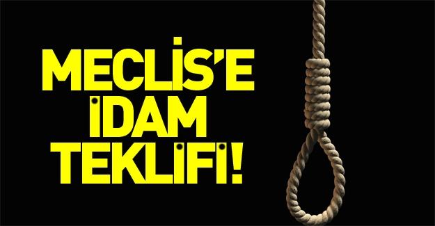 Cinsel istismara karşı Meclis'e idam teklifi