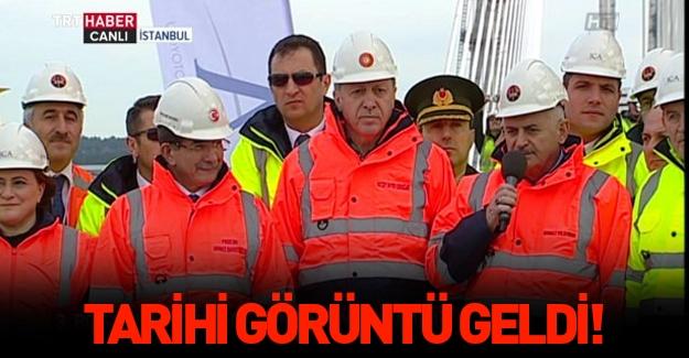 Cumhurbaşkanı Erdoğan 3. Köprü töreninde konuştu