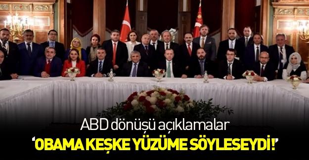 Cumhurbaşkanı Erdoğan'dan Amerika dönüşü açıklamalar