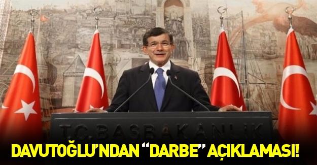 Davutoğlu'ndan TSK açıklaması...