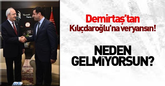 Demirtaş kankası Kılıçdaroğlu'dan dert yandı