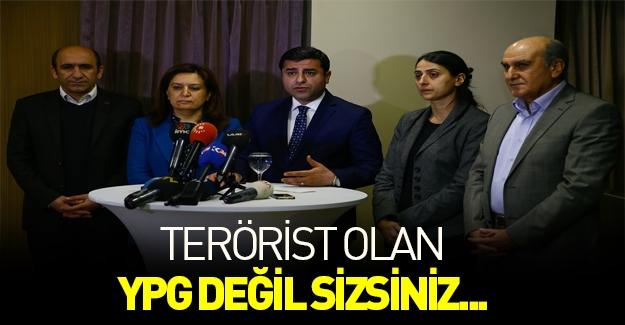 Demirtaş'tan skandal açıklamalar!