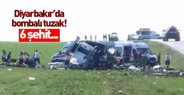 Diyarbakır'da şehitlerimiz var!