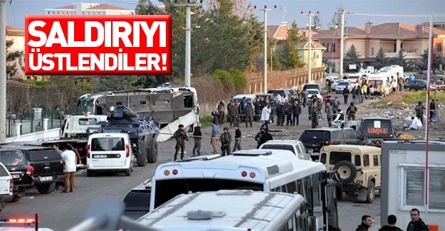 Diyarbakır'daki kanlı saldırıyı üstlendiler!