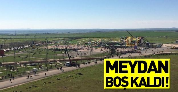 Diyarbakır'daki Nevruz kutlamaları gergin başladı