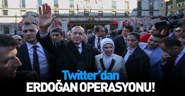 Erdoğan'a yoğun ilgiyi Twitter hazmedemedi!