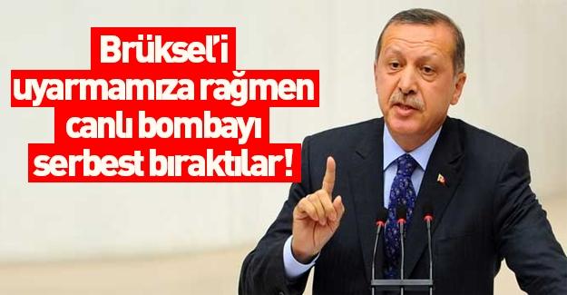 Erdoğan açıkladı: Brüksel bombacısını Belçika bırakmış