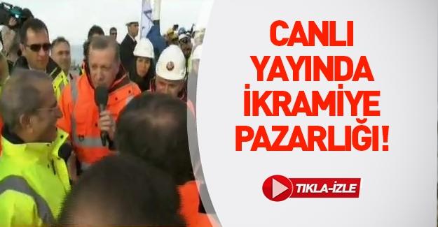 Erdoğan'dan 3. Köprü işçilerine ikramiye müjdesi