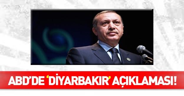 Erdoğan'dan ABD'de Diyarbakır açıklaması!