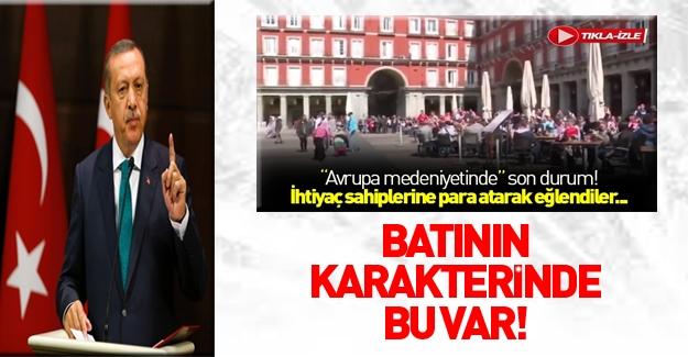 Erdoğan'dan mültecilerle dalga geçen Hollandalılara tepki