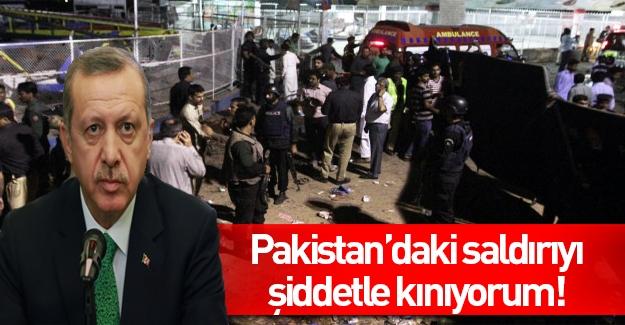 Erdoğan'dan Pakistan açıklaması